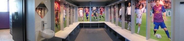 vestiaires de foot en salle toulouse